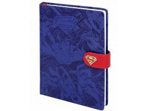 zapisnik dc comics superman maketa