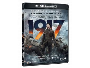 1917 (4k Ultra HD Blu-ray + Blu-ray, Bez CZ)