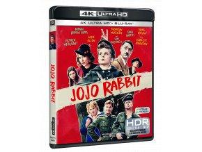 Králíček Jojo (4k Ultra HD Blu-ray + Blu-ray, CZ pouze na UHD)