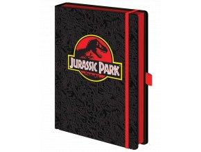 Zápisník Jurský park (A5, bez linek, prémiová vazba)