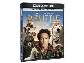 Dolittle (4k Ultra HD Blu-ray + Blu-ray)