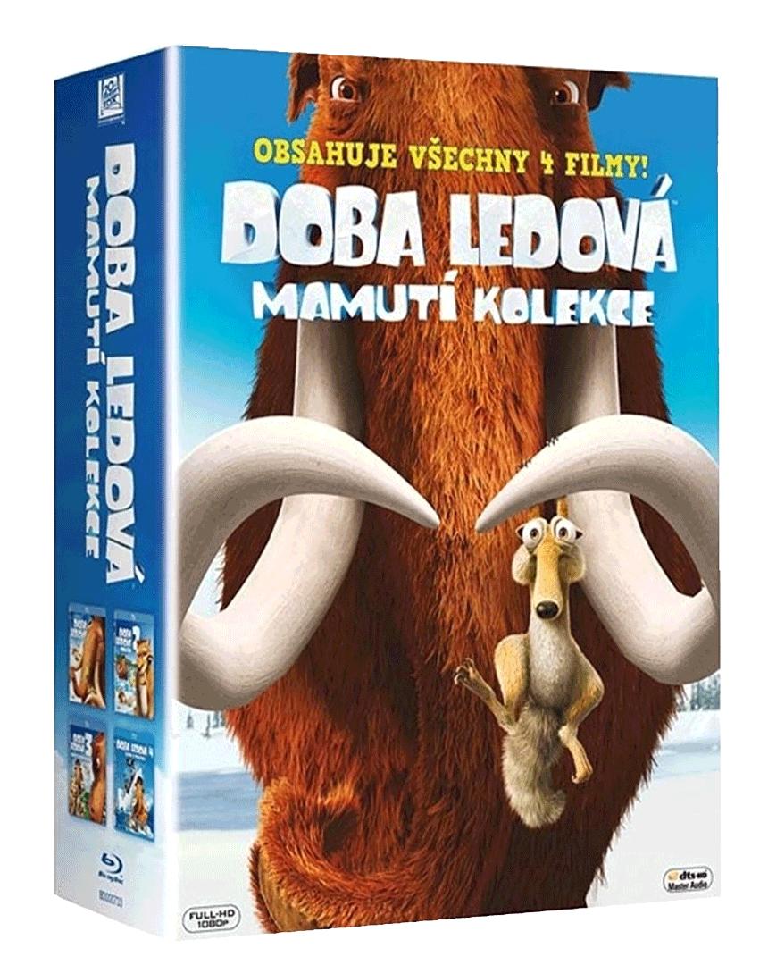 Doba ledová: Mamutí kolekce (První čtyři díly, 4x Blu-ray)