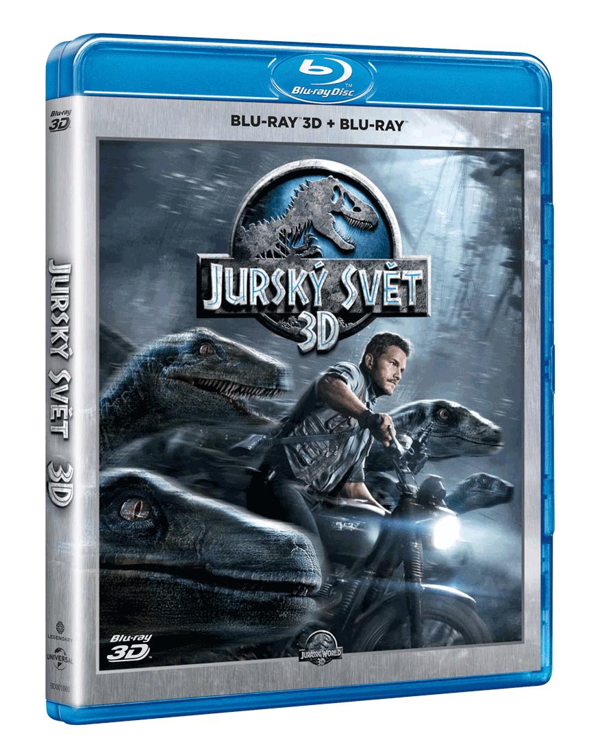 Jurský svět (Blu-ray 3D + Blu-ray 2D)