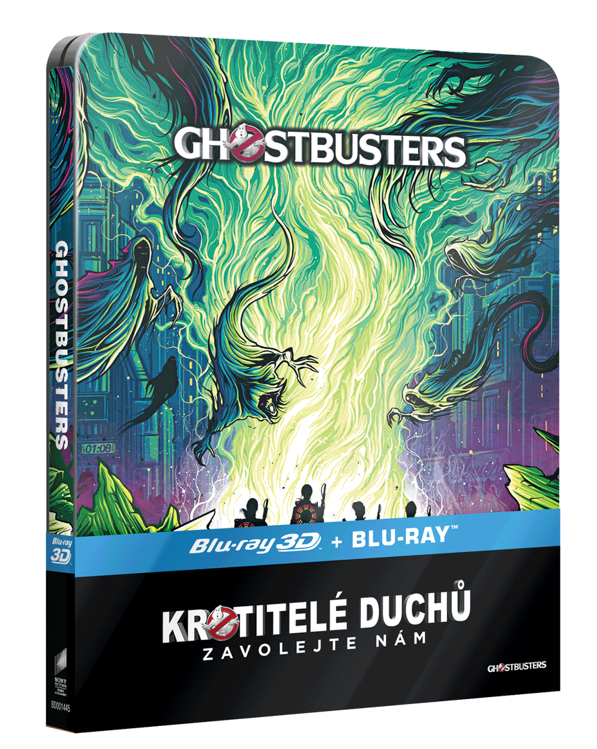 Krotitelé duchů 2016 (Blu-ray 3D + Blu-ray 2D, Steelbook)
