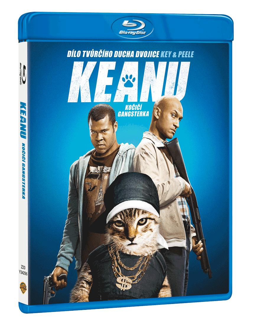 Keanu - Kočičí gangsterka (Blu-ray)