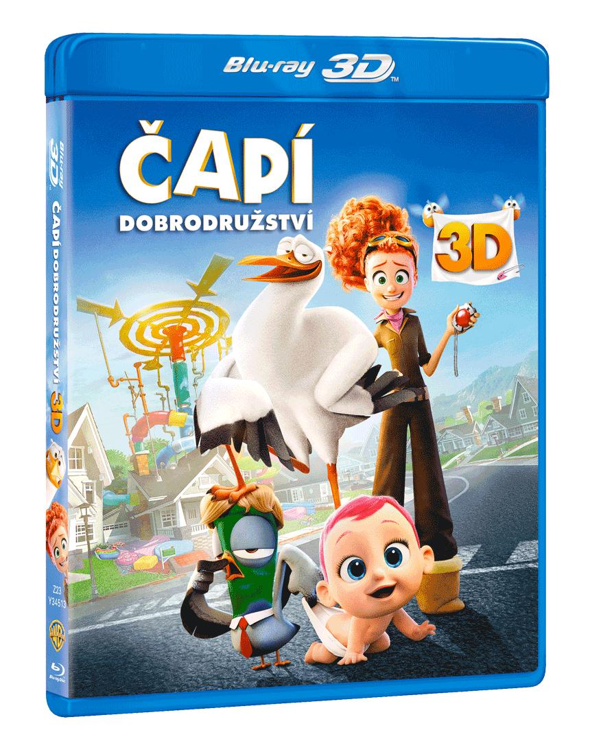 Čapí dobrodružství (Blu-ray 3D + Blu-ray)