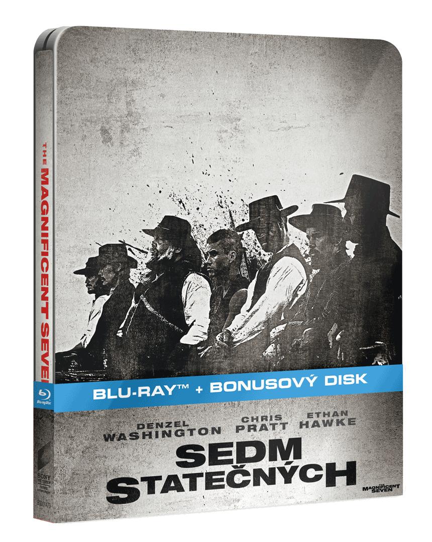 Sedm statečných (Blu-ray + bonusové DVD, Steelbook)