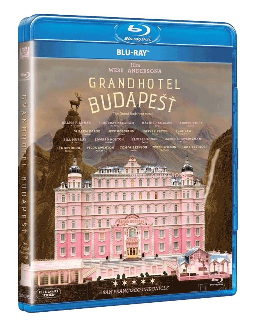 Grandhotel Budapešť (Blu-ray)