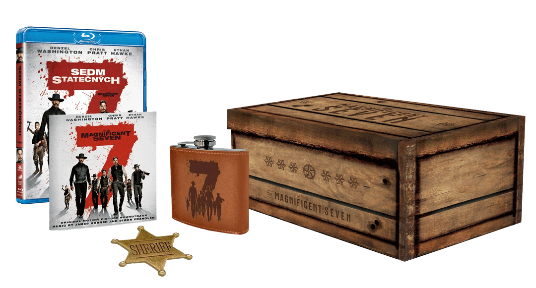 Sedm statečných 2016 (Blu-ray + CD, sběratelská edice)