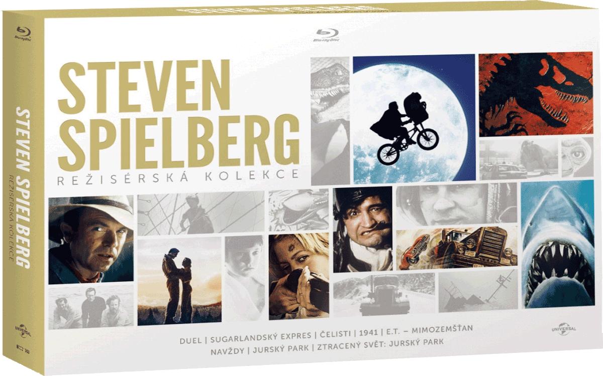Steven Spielberg - Režisérská kolekce (9x Blu-ray)