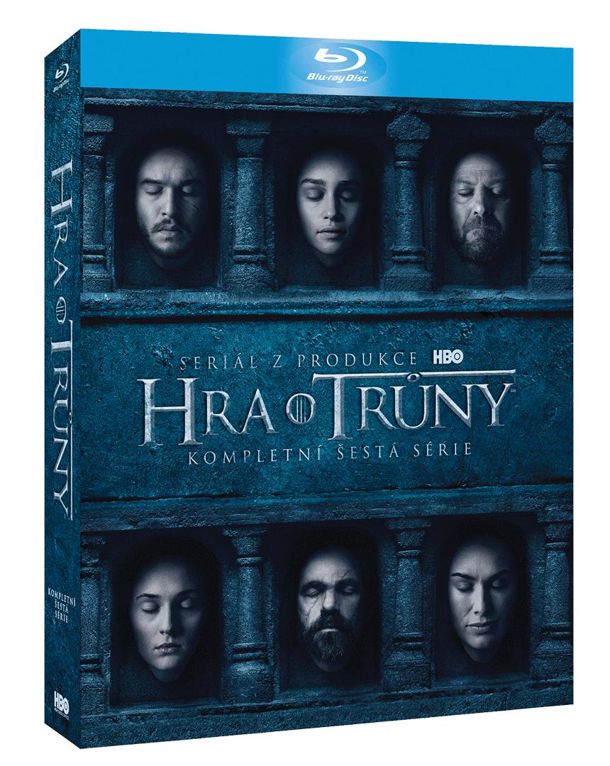 Hra o trůny - 6. sezóna (4x Blu-ray)