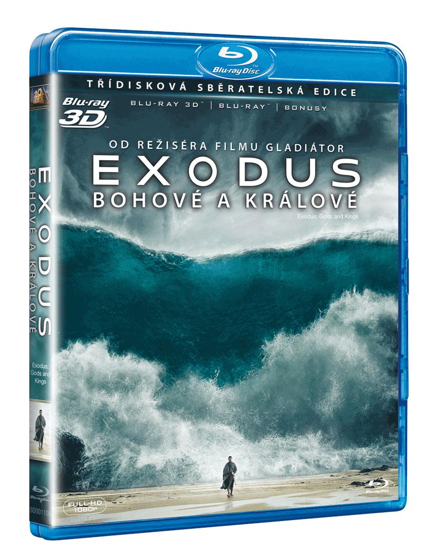 Exodus: Bohové a králové (Blu-ray 3D + 2x Blu-ray)