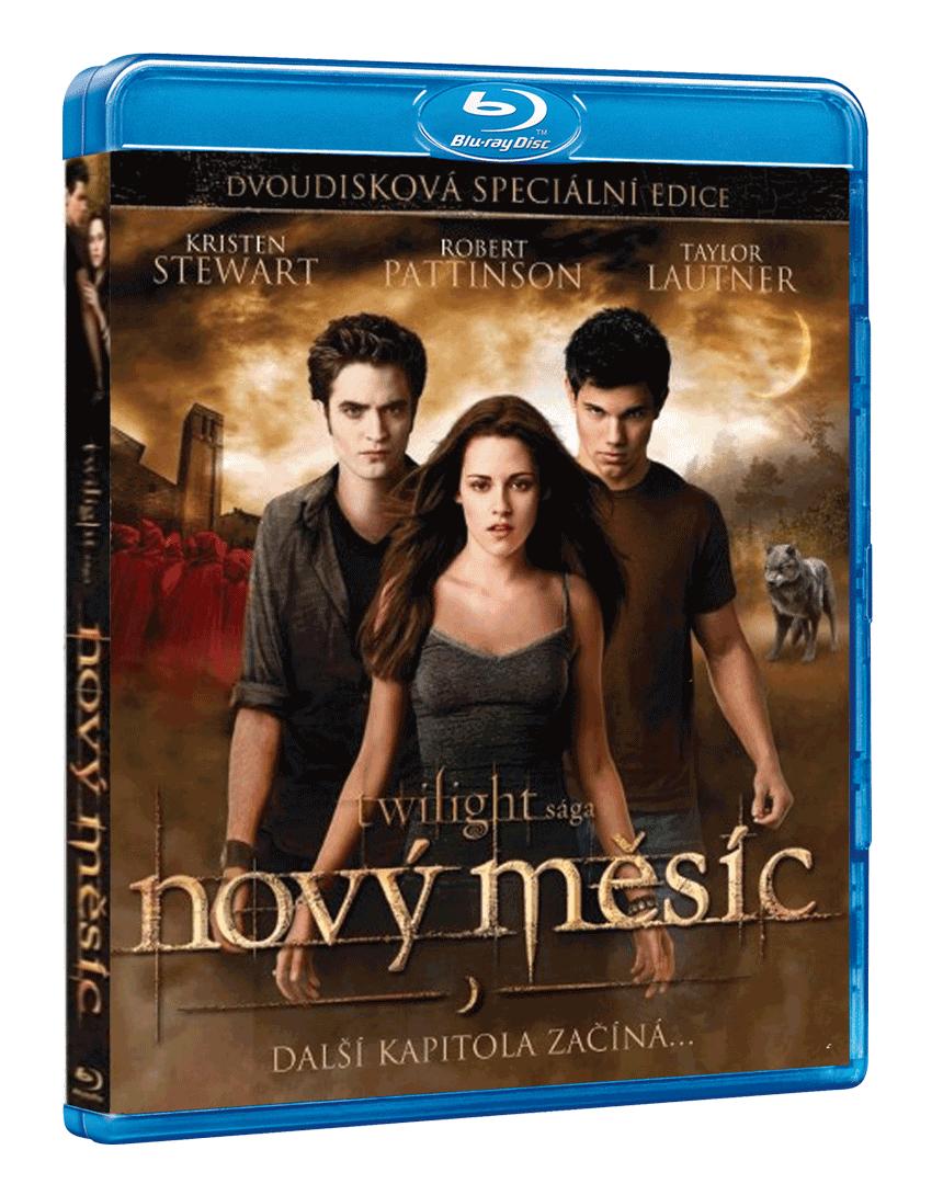 Twilight Sága: Nový měsíc (Blu-ray + bonusové DVD)