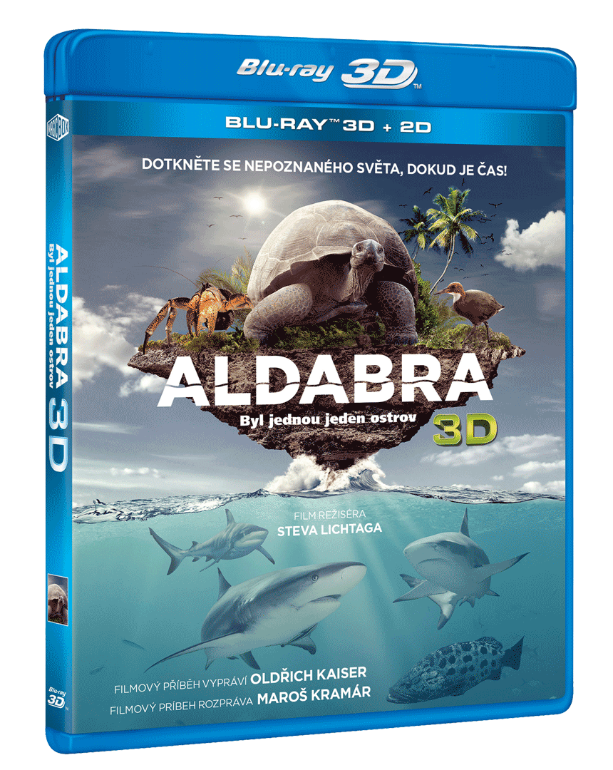 Aldabra: Byl jednou jeden ostrov (Blu-ray 3D + 2D)
