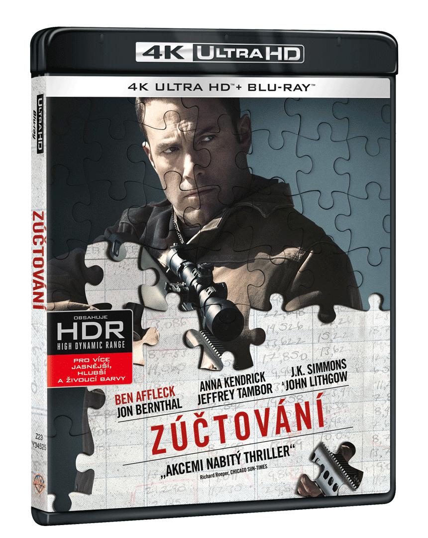 Zúčtování (4k Ultra HD Blu-ray + Blu-ray)