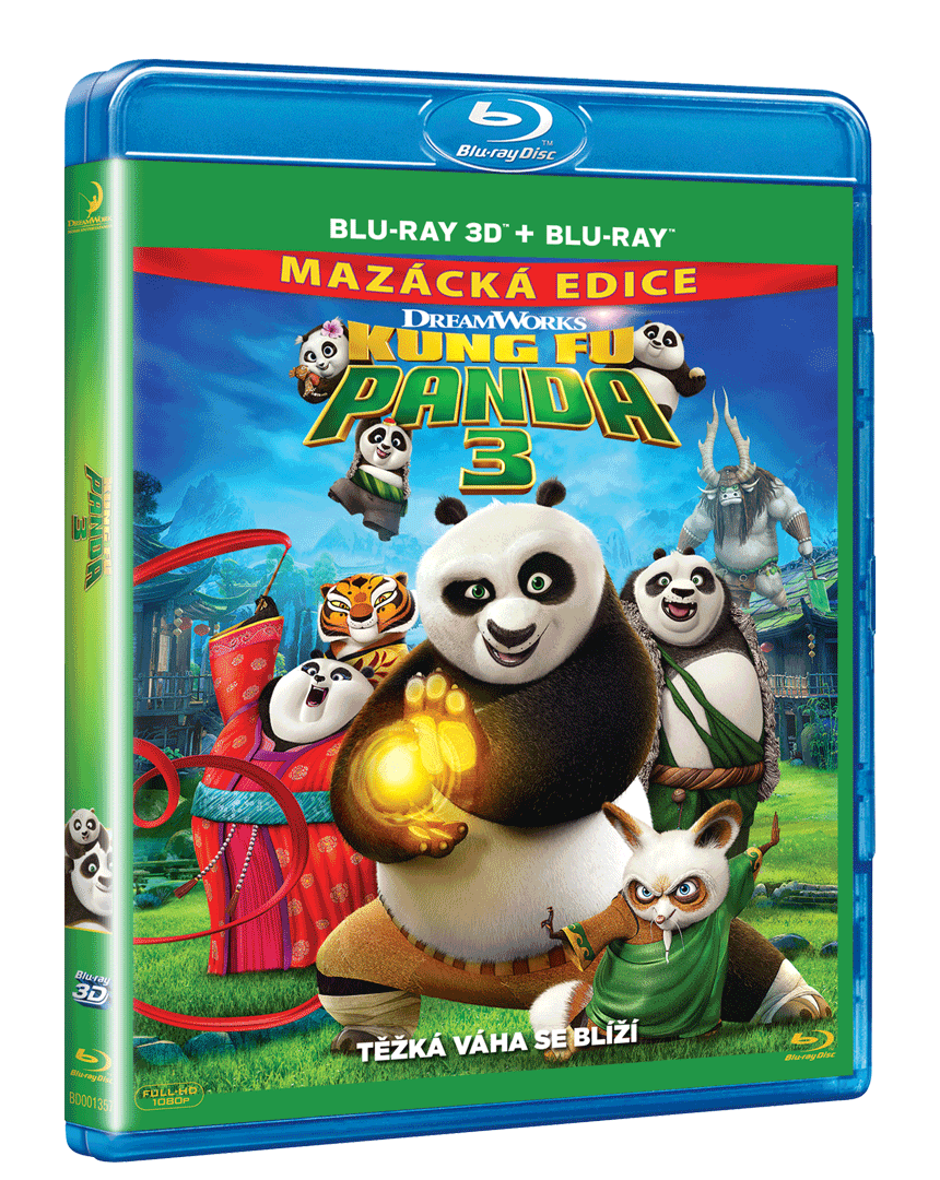 Kung Fu Panda 3 (Blu-ray 3D)