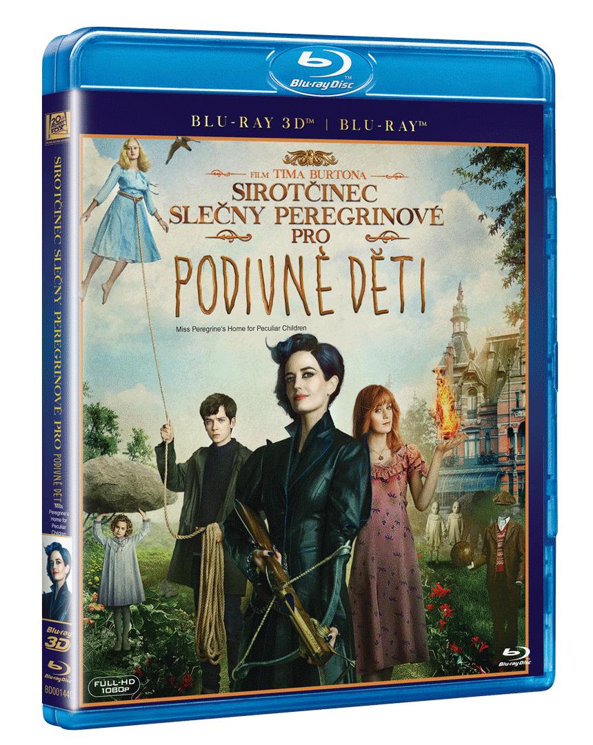 Sirotčinec slečny Peregrinové pro podivné děti (Blu-ray 3D + Blu-ray 2D)