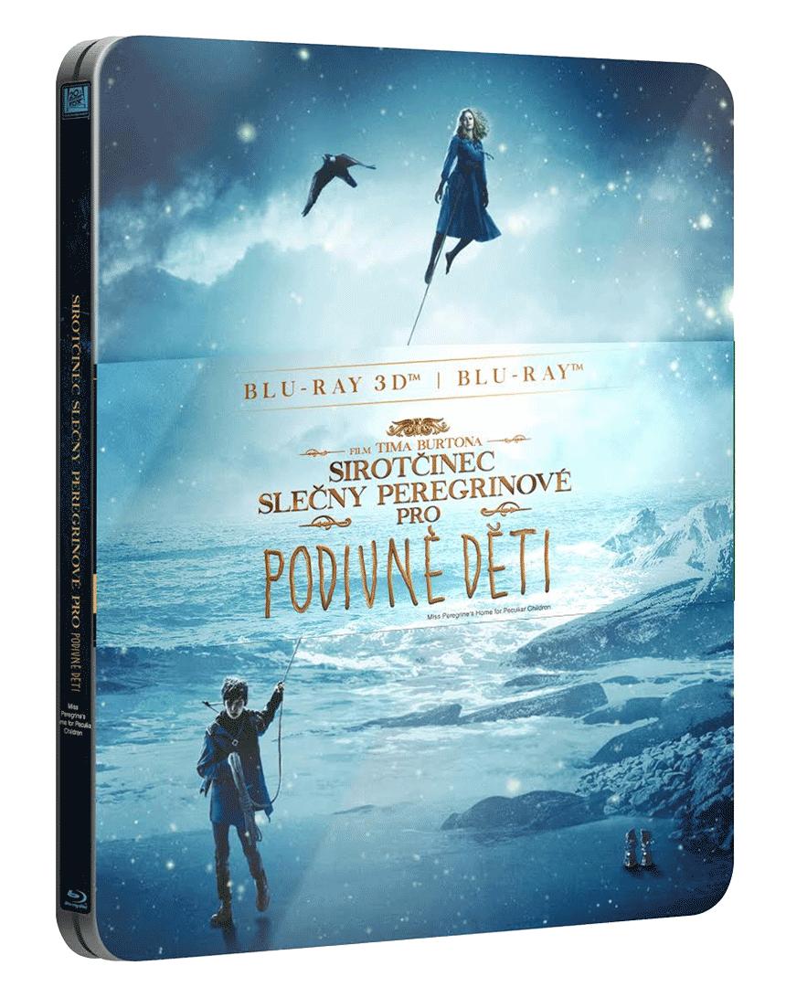 Sirotčinec slečny Peregrinové pro podivné děti (Steelbook, Blu-ray 3D + Blu-ray 2D)