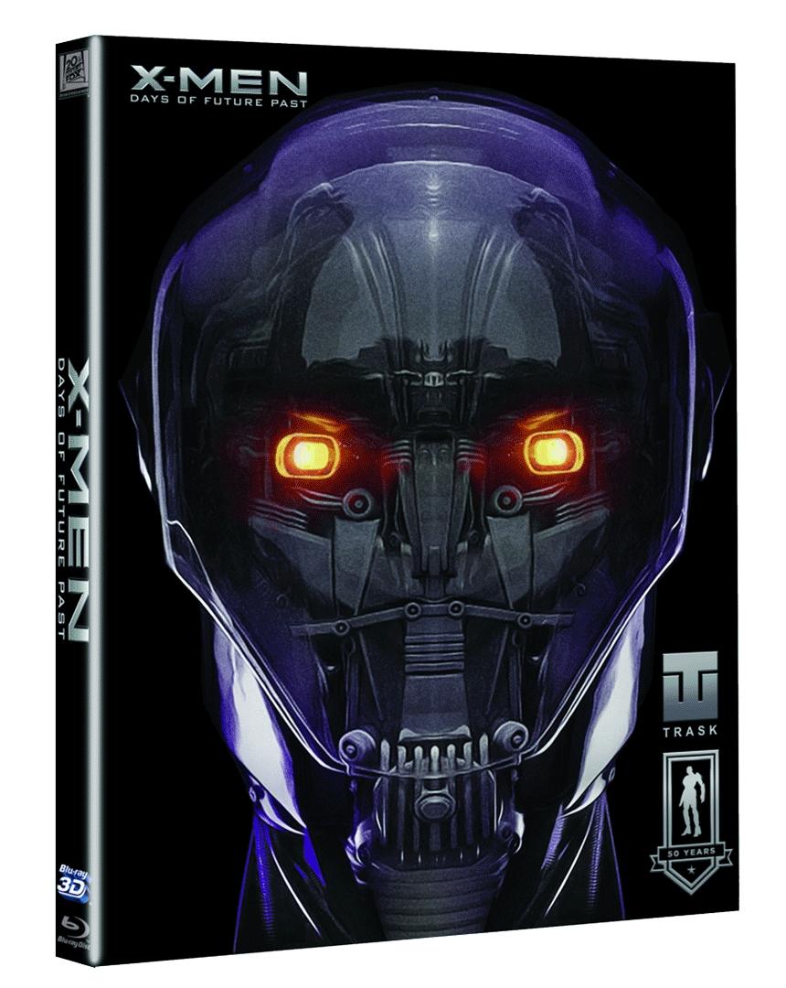 X-Men: Budoucí minulost (Blu-ray 3D + Blu-ray 2D, Slipcase s komiksem)