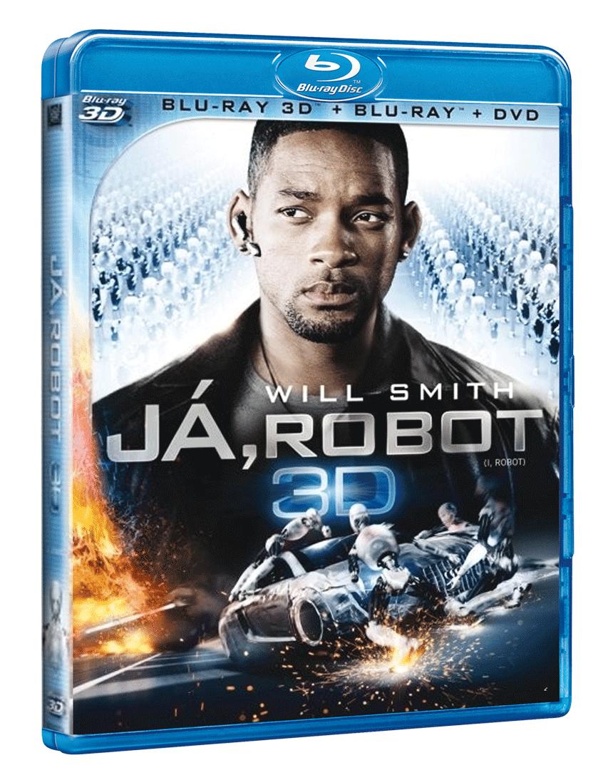 Já, robot (Blu-ray 3D & 2D, 2x DVD)