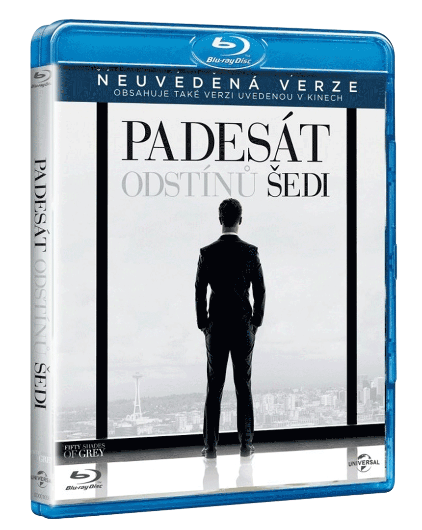 Padesát odstínů šedi (Blu-ray)