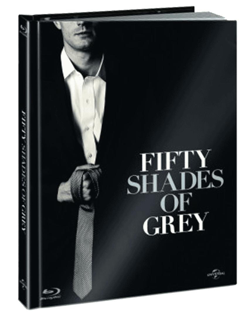Padesát odstínů šedi (Digibook, Blu-ray + bonusové DVD)