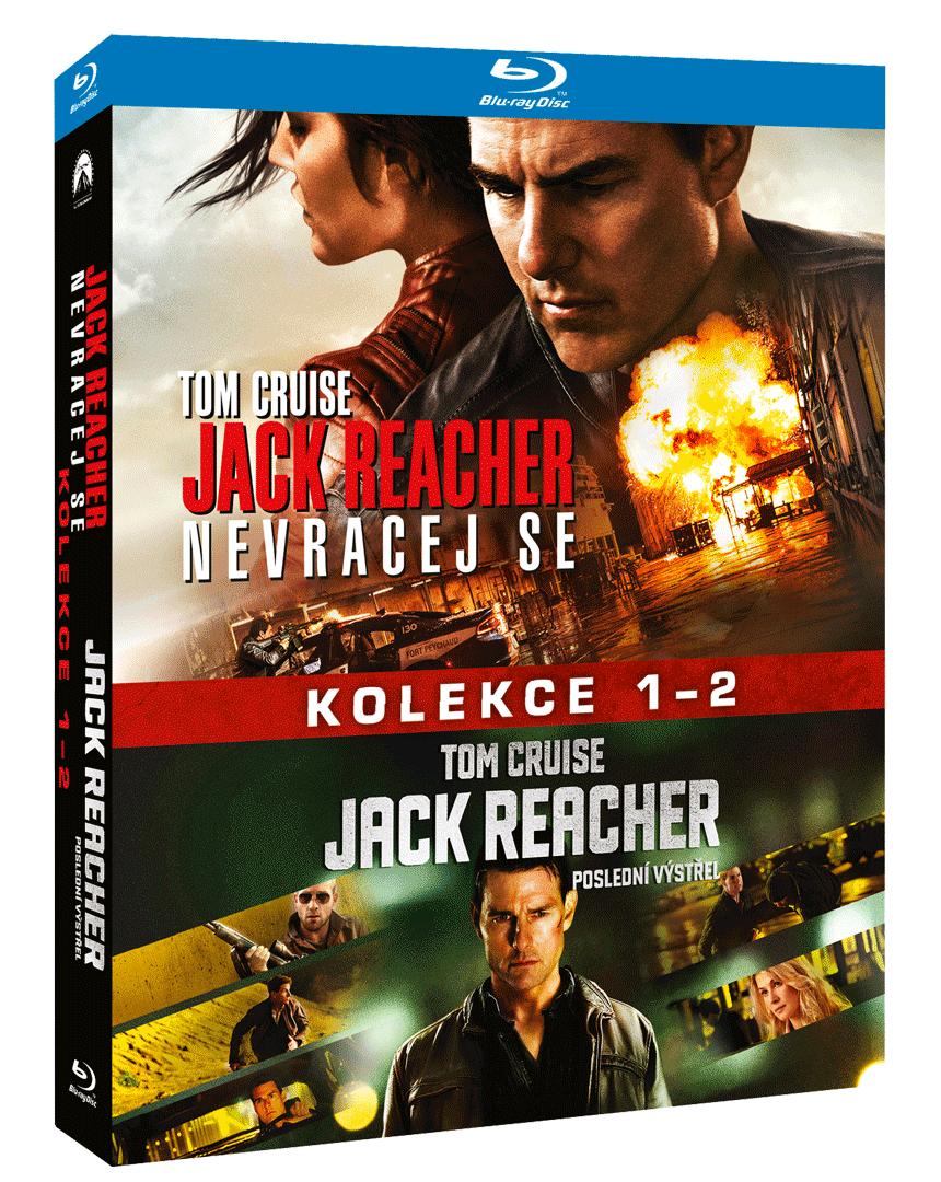 Jack Reacher (Blu-ray kolekce, 1. a 2. díl)