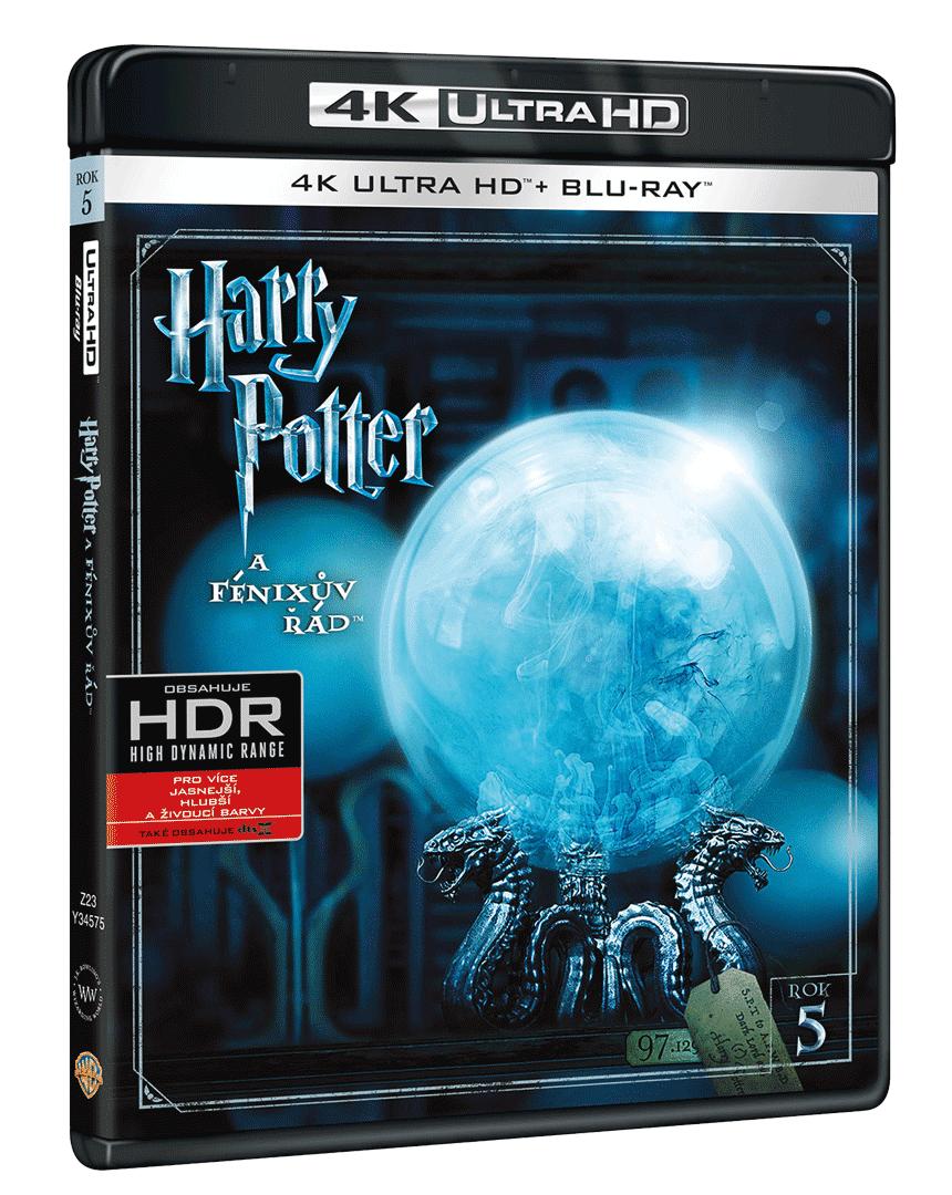 Harry Potter a Fénixův řád (4k Ultra HD Blu-ray + Blu-ray)