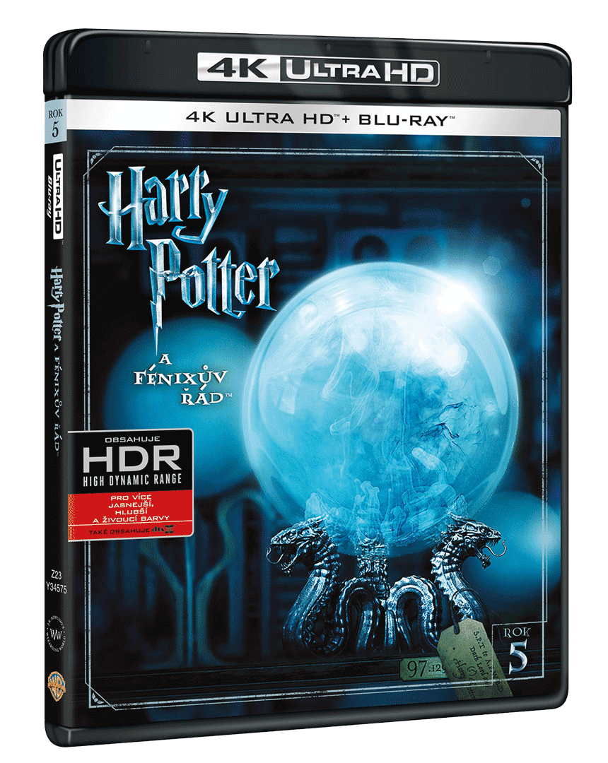 Harry Potter a Fénixův řád (4k Ultra HD Blu-ray + Blu-ray)