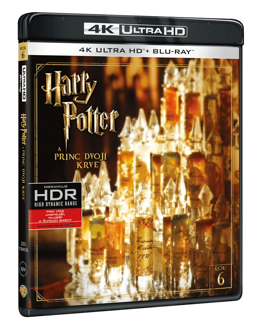 Harry Potter a Princ dvojí krve (4k Ultra HD Blu-ray + Blu-ray)