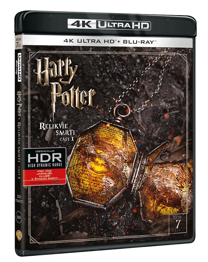 Harry Potter a Relikvie smrti (4k Ultra HD Blu-ray + Blu-ray)