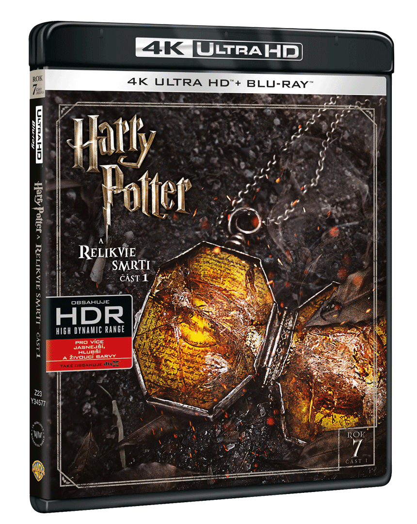 Harry Potter a Relikvie smrti (4k Ultra HD Blu-ray + Blu-ray)