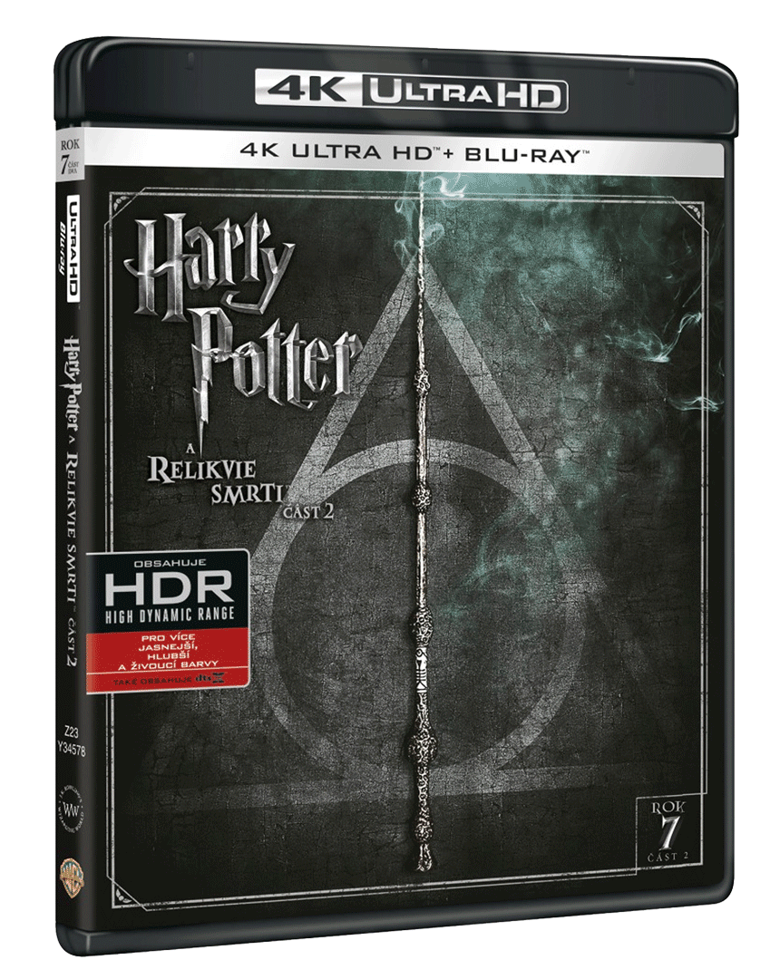Harry Potter a Relikvie smrti - část 2. (4k Ultra HD Blu-ray + Blu-ray)