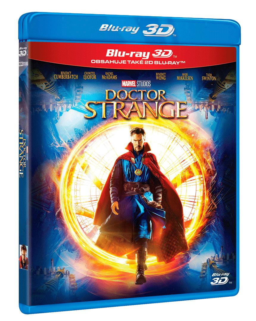 Doctor Strange (Blu-ray 3D + Blu-ray 2D)