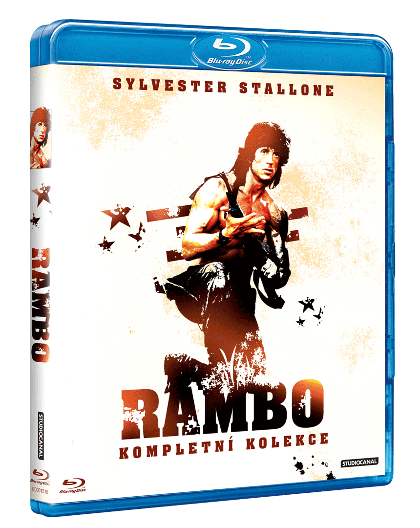 Rambo (Kolekce 1-3, 3x Blu-ray)