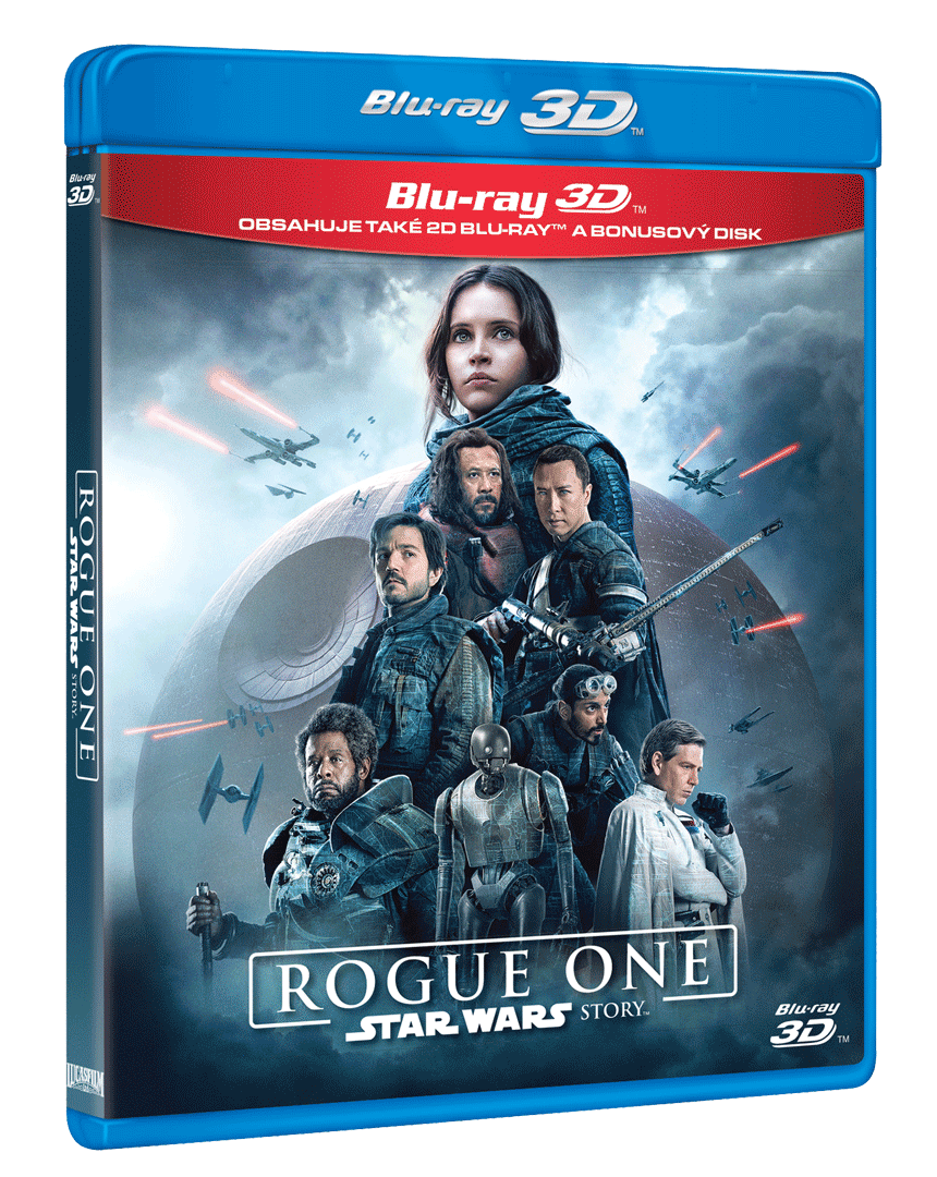 Rogue One: Star Wars Story (Blu-ray 3D + Blu-ray 2D)