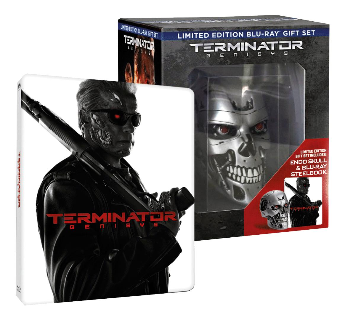 Terminator Genisys (Blu-ray 3D + 2x Blu-ray 2D, Steelbook, Sběratelské balení)
