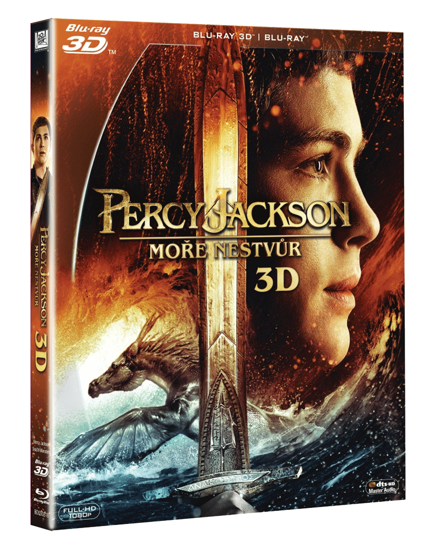 Percy Jackson: Moře nestvůr (Blu-ray 3D + Blu-ray 2D)