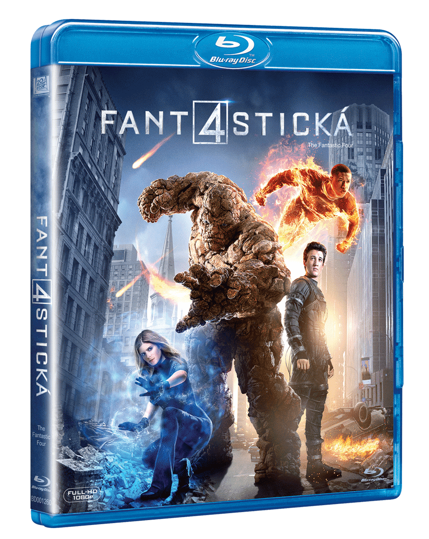 Fantastická čtyřka (2015, Blu-ray)