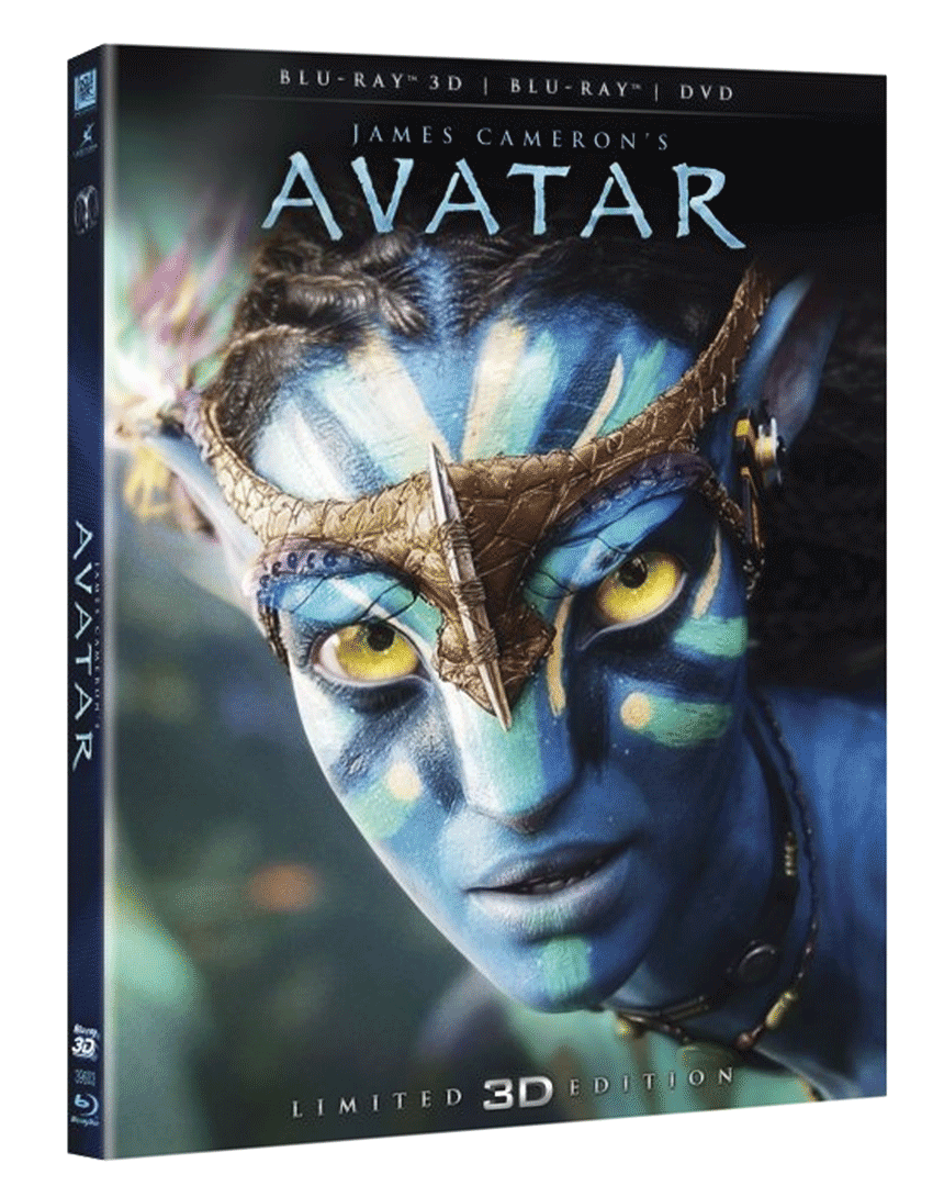 Avatar (Blu-ray 3D & 2D + DVD)