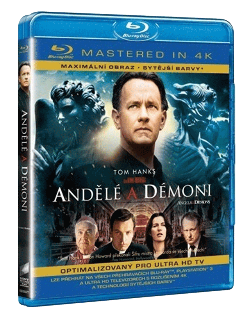 Andělé a démoni (Blu-ray, Mastered in 4k)