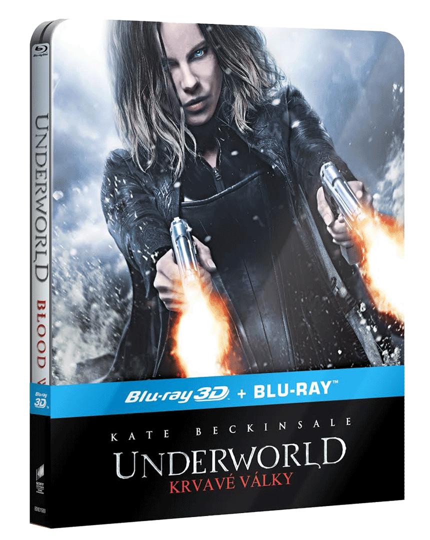 Underworld: Krvavé války (Blu-ray 3D + Blu-ray 2D, Steelbook)