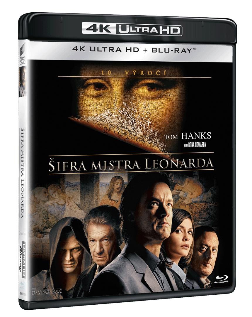 Šifra mistra Leonarda (4k Ultra HD Blu-ray + Blu-ray)