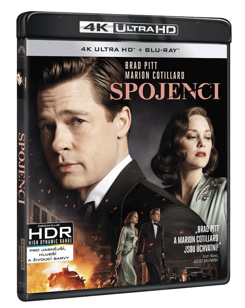 Spojenci (4k Ultra HD Blu-ray + Blu-ray)