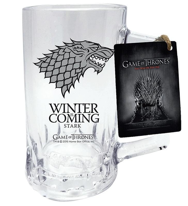 Půllitr Game of Thrones (Stark)