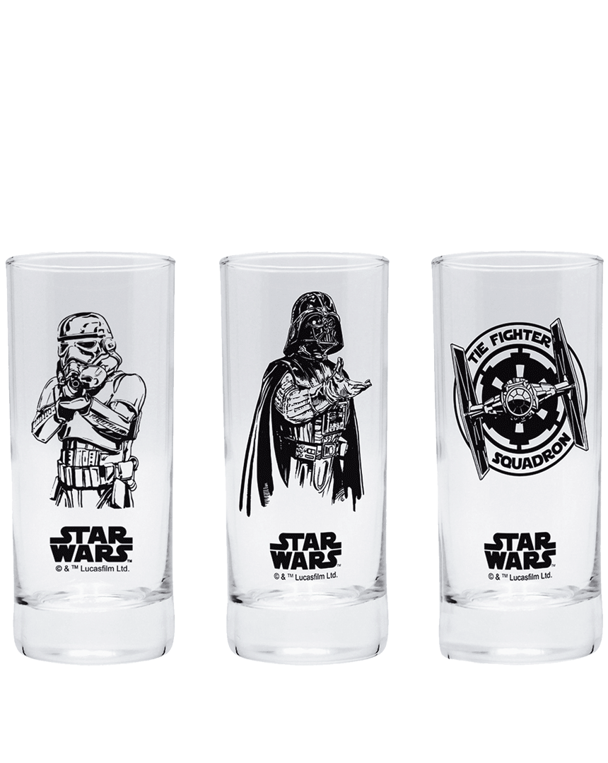Sklenice Star Wars (3 kusy)