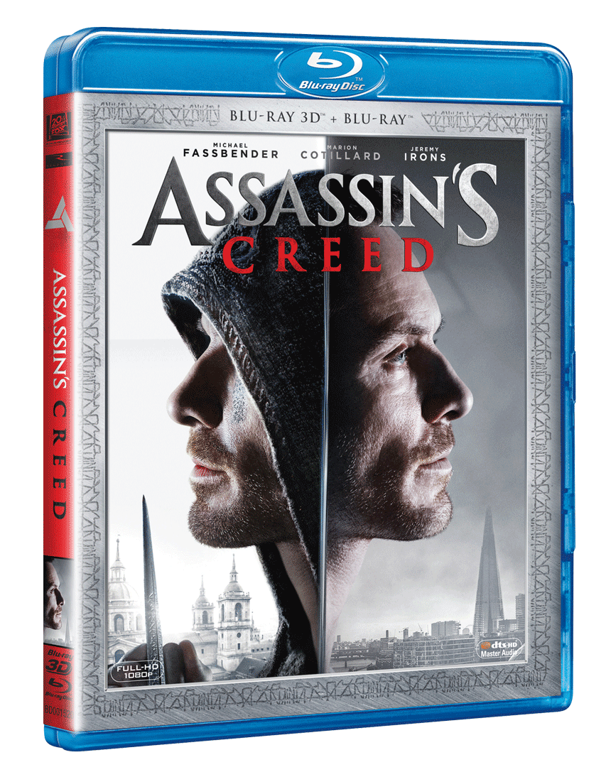 Assassin´s Creed (Blu-ray 3D + Blu-ray 2D)