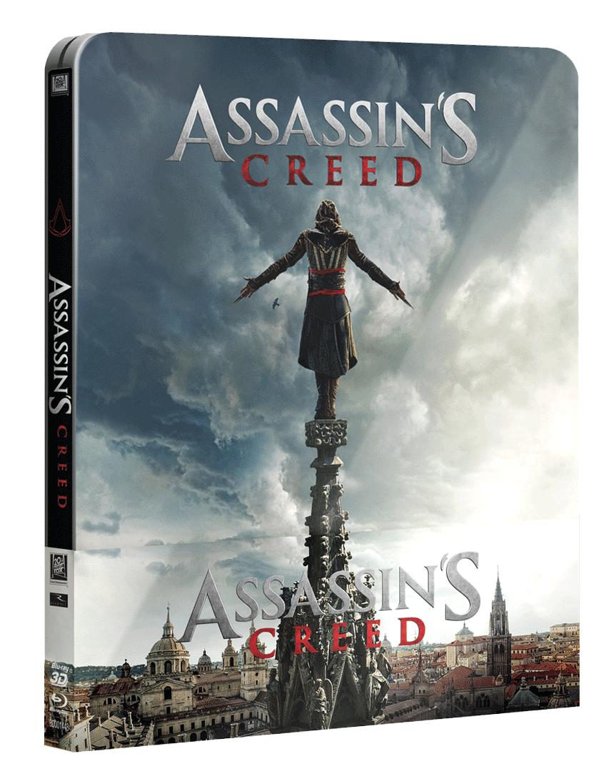 Assassin´s Creed (Blu-ray 3D + Blu-ray 2D, Steelbook)