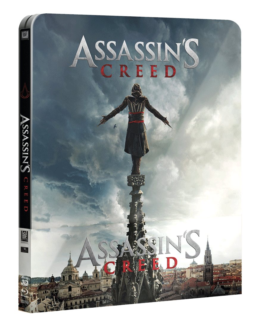 Assassin´s Creed (Blu-ray 3D + Blu-ray 2D, Steelbook)