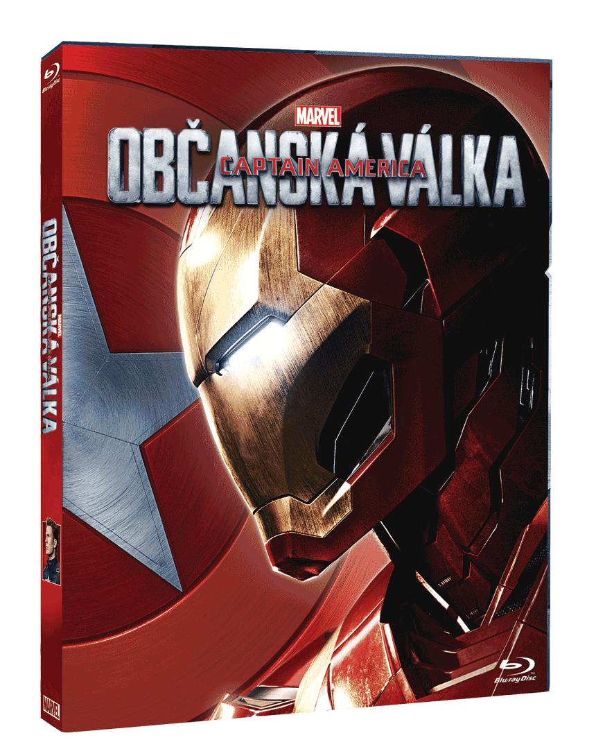 Captain America: Občanská válka (Blu-ray, Iron Man sleeve)